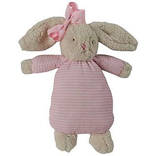 Mud Pie Bunny Bow Buddy, Pink