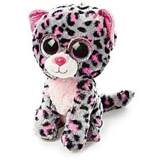 "Claires Accessories Ty Beanie Boos Plush Tasha the Leopard - 6"" Small"
