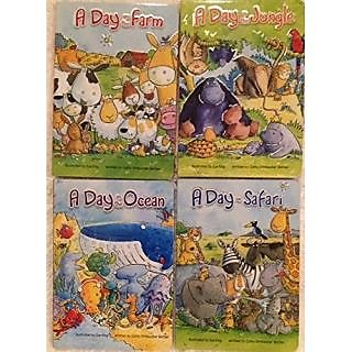 A Day on the Farm, in the Jungle, in the Ocean and / or on Safari (Assorted, Titles & Quantities Vary) by Cathy Drinkwater Better & Sue King Illustrator