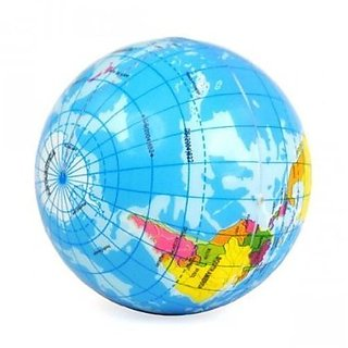 Buy world map foam earth globe stress relief foam ball bouncy world map foam earth globe stress relief foam ball bouncy elastic soft toy gift gumiabroncs Choice Image