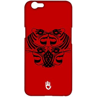 KR Red Tiger - Sublime Case For Oppo F1s