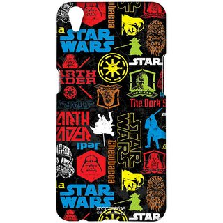 Star Wars Mashup - Sublime Case For Oppo F1 Plus