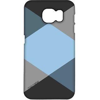 Criss Cross Blugrey - Pro Case For Samsung Note 5