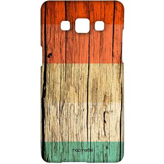 Wood Stripes Orange - Sublime Case For Samsung A5