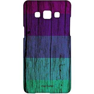 Wood Stripes Violet - Sublime Case For Samsung A5