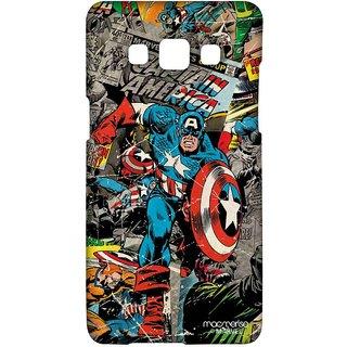 Comic Captain America - Sublime Case For Samsung A5