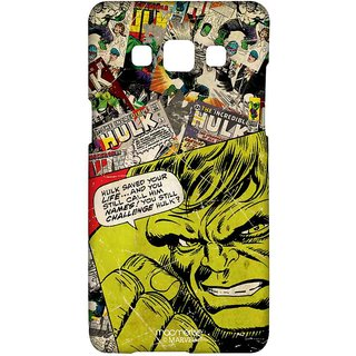 Comic Hulk - Sublime Case For Samsung A5