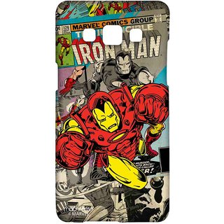 Comic Ironman - Sublime Case For Samsung A5