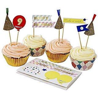 Happy Birthday Cupcake Kit