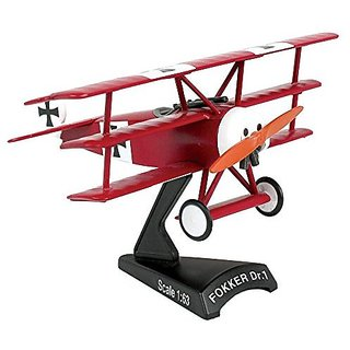 Daron Worldwide Trading Fokker DR.I 1:63 Red Baron Vehicle