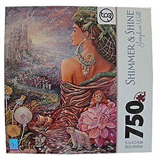 Josephine Wall Shimmer & Shine 750 Piece Jigsaw Puzzle: Untold Story