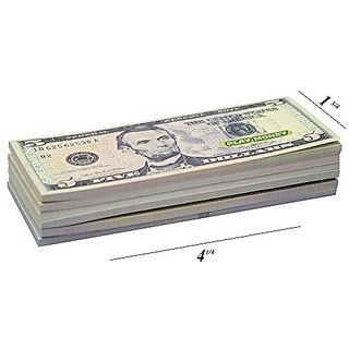 Paper Play Money Dollars Bill Collections Looks Real-$100,$50,$20,$10,$5,$1