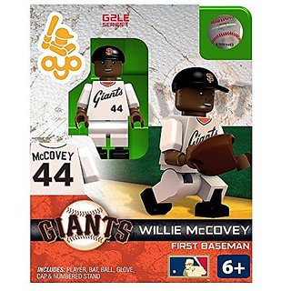 Willie McCovey MLB San Francisco Giants G2S1 Hall of Fame Mini Figure OYO