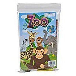 6 Zoo Animals Grab Bag Assortment