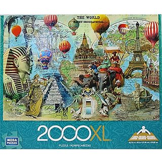 Mega Puzzles 2000XL The World 2000 pieces