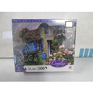MB Croxley Rose Garden in Kernascleden, France 500 Pc. Jigsaw Puzzle