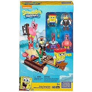 Mega Bloks SpongeBob SquarePants Pirate Figure Pack Building Set