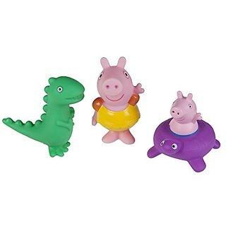 Peppa Pig Peppa Pig, George Pig & Dino Bath Squirtees