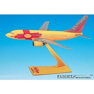 Southwest New Mexico 737-700 Airplane Miniature Model Plastic Snap Fit 1:200 Part# ABO-73770H-005