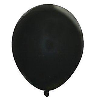 "5"" Latex Balloons - Pack of 144 pc - Decorator Midnight Black"