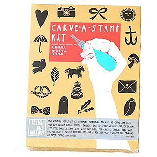 Yellow Owl Carve-a-Stamp Kit