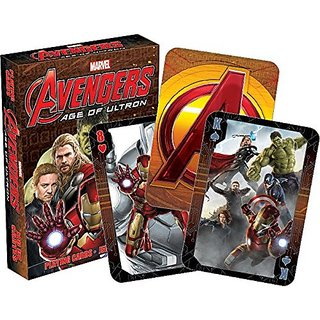 Marvel Avengers 2 Age of Ultron Playing Cards