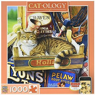 Masterpieces Fothergill Cat O Logy Jigsaw Puzzle (1000-Piece)