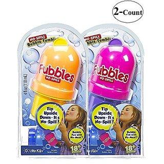 Little Kids Fubbles No Spill Bubble Tumbler 2 Pack