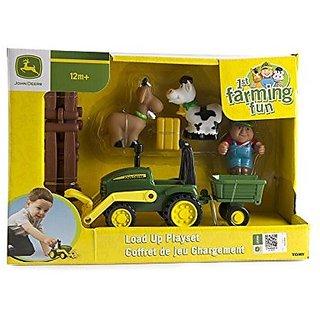 Ertl John Deere 1st Farming Fun Load-up Playset Vehicle