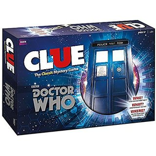 Doctor Who Clue Board Game