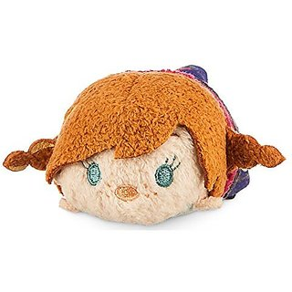 Disney Anna Tsum Tsum Plush - Frozen - Mini - 3 1/2