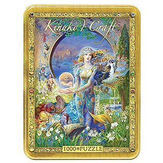 Masterpieces Cybeles Secret Kinuko Craft Tins Jigsaw Puzzle (1000-Piece)
