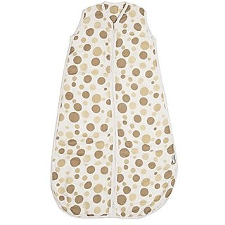 Baby Muslin Summer Sleeping Bag approx. 0.5 Tog - Circles - 6-18 months/35inch
