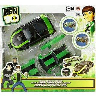 Ben 10 Ultimate Alien - Alien Crash Vehicle by Bandai