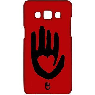 KR Red Hand - Sublime Case For Samsung A7