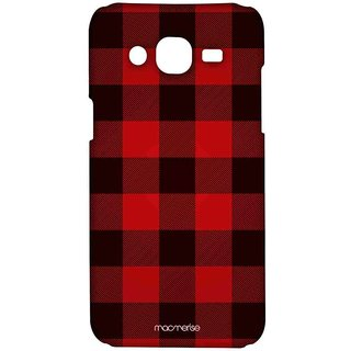 Checkmate Red - Sublime Case For Samsung On7