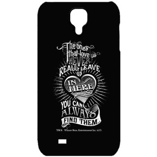 Find Loved Ones Black  - Sublime Case For Samsung S4