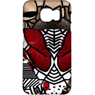 KR Red Abstract - Pro Case For Samsung S6