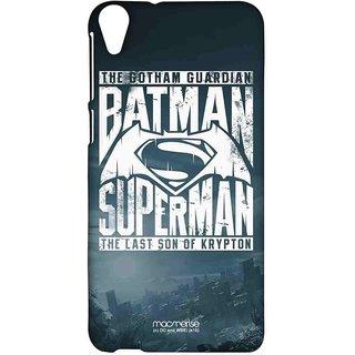 Gotham Vs Krypton Blue - Sublime Case For HTC Desire 820