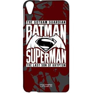 Gotham Vs Krypton Red - Sublime Case For HTC Desire 820