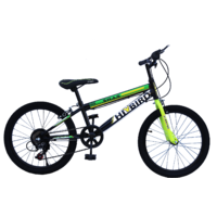 Hi-Bird SWAG 20T 7 Speed Bmx Black Cycle
