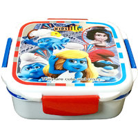 Multicontainers Lunch Box (Colour top design may vary)