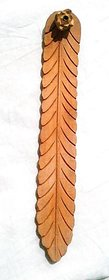 Insence Stick Holder Or Burner in Brown color