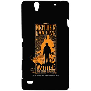 Harry Vs Voldemort  - Sublime Case For Sony Xperia C4