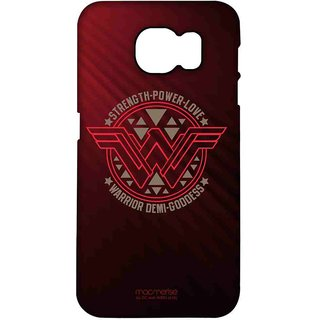 Wonder Woman Stamp - Pro Case For Samsung S7 Edge