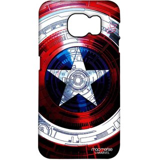 Captains Shield Decoded - Pro Case For Samsung S6 Edge Plus