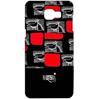 Masaba Red Line Horses - Sublime Case For Samsung A9