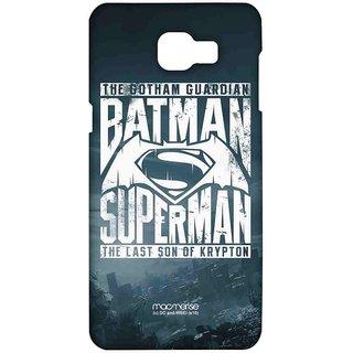 Gotham Vs Krypton Blue - Sublime Case For Samsung A9