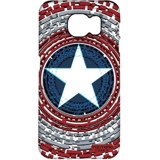 Captains Shield Engineered - Pro Case For Samsung S6 Edge Plus