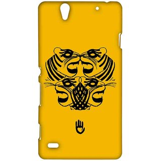 KR Yellow Tiger - Sublime Case For Sony Xperia C4